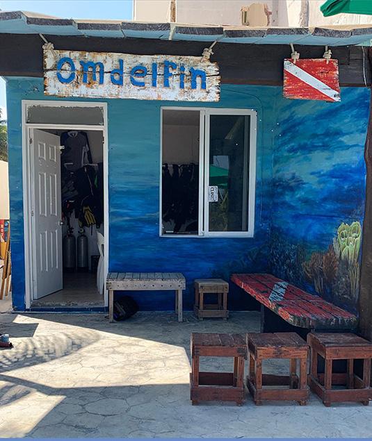 TIenda de Buceo Puerto Morelos