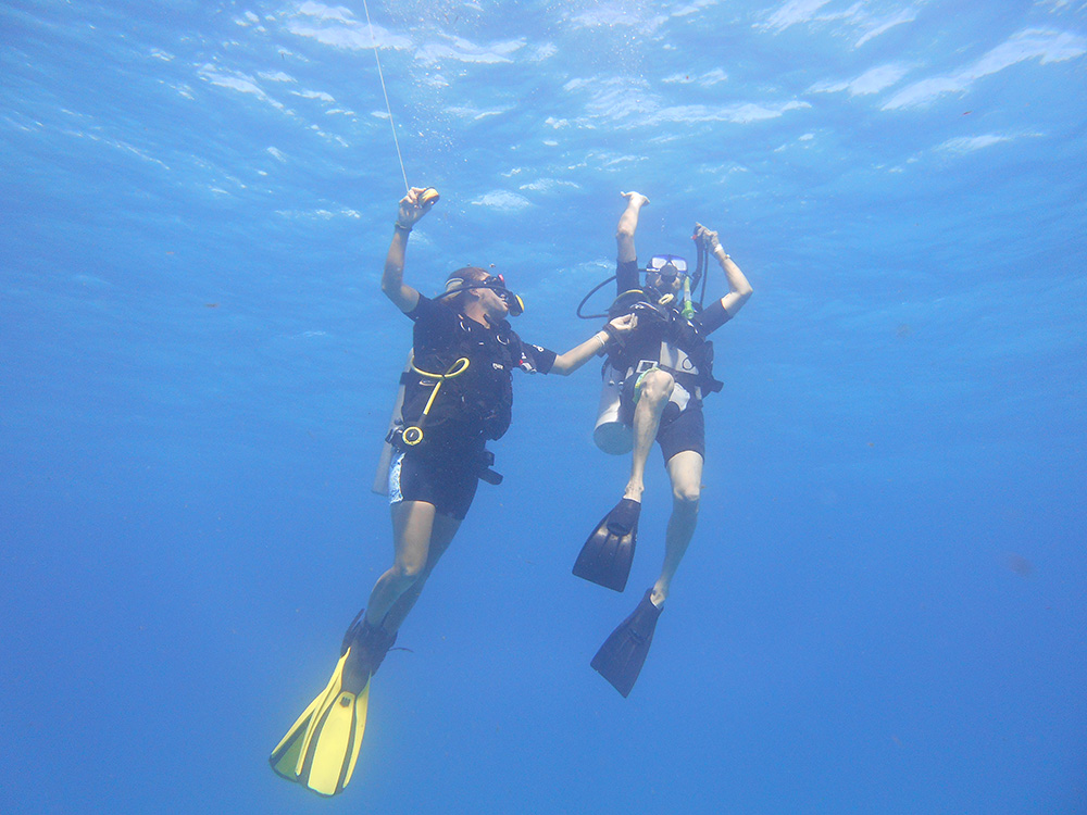 Open Water Diver Course in Puerto Morelos