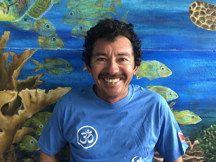 Scuba Diving and Snorkeling in Puerto Morelos - Our captain