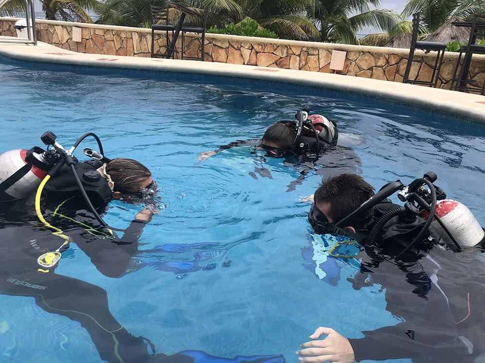 Best Open Water Course in Puerto Morelos