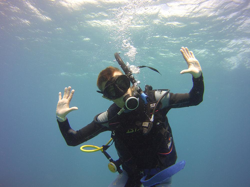 Scuba Diving Puerto Morelos - Om Delfin